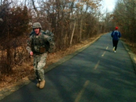 Running With The US Army!
