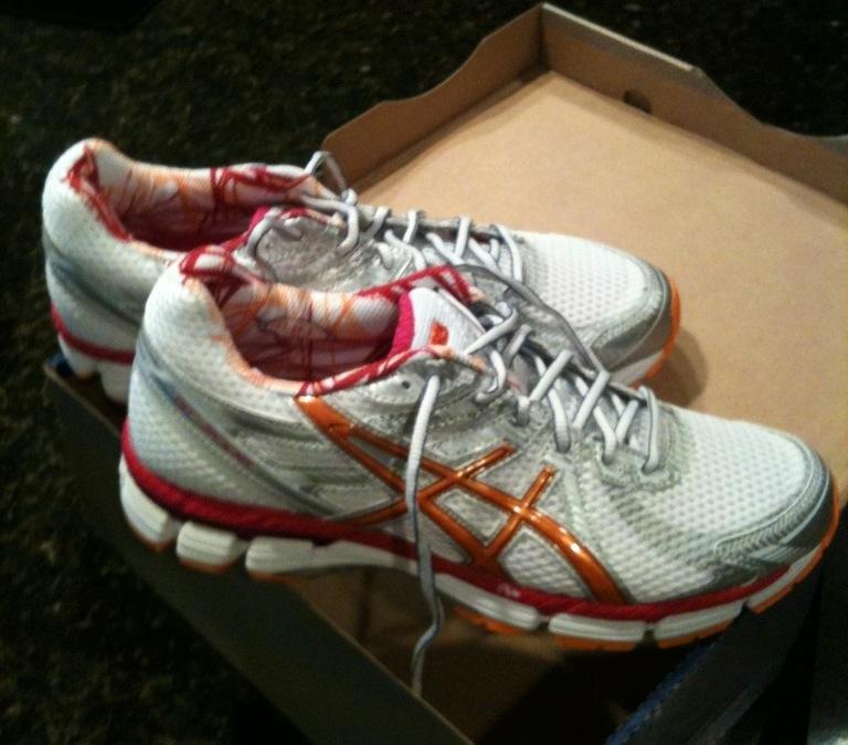New Running Shoes = Happy Runner