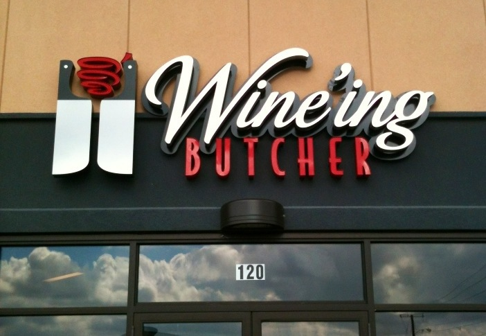 Shopping at the Wine'ing Butcher