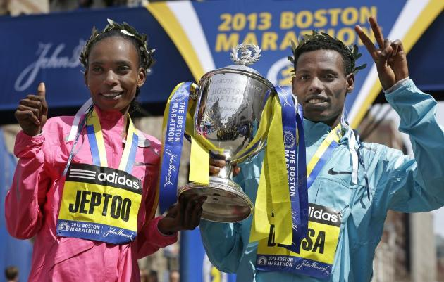 Recognizing the 117th Boston Marathon Winners