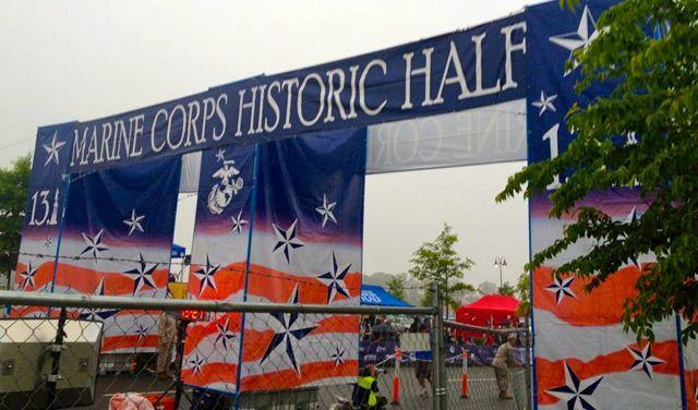 Marine Corps Historic Half and Carter's Run 5K Race Recaps