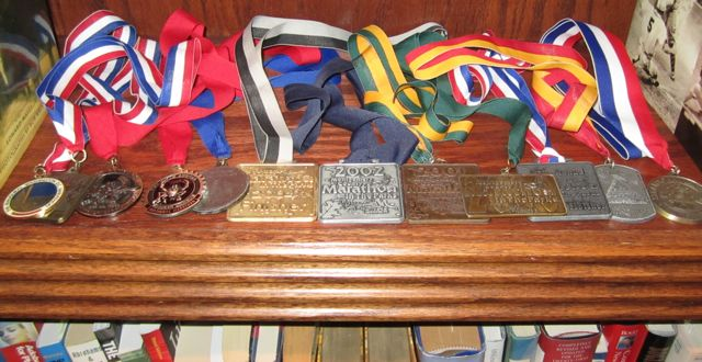 Saving Buku Bucks – DIY Race Medal Display