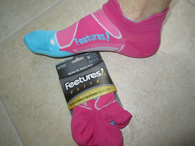 Feetures Socks Winner!