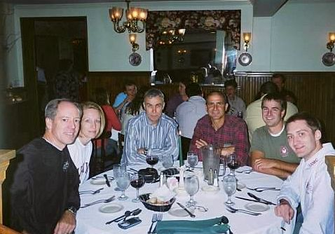 SteamtownMarathon2005Dinner