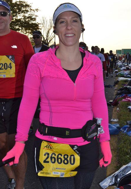 Amanda's Marine Corps Marathon Race Recap