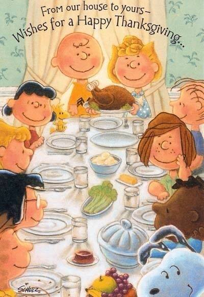 Happy Thanksgiving, My Friends