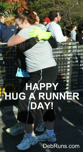 Have You Hugged A Runner Today?