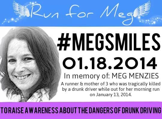 We Ran For Meg