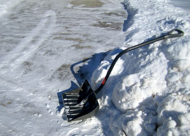 Shoveling Snow in -10° Wind Chill