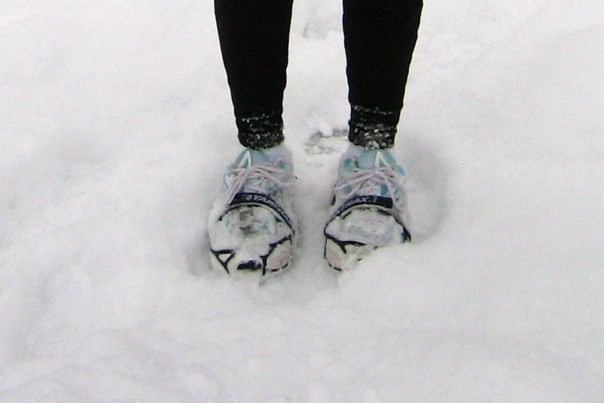 Picture This Snowy Morning Run