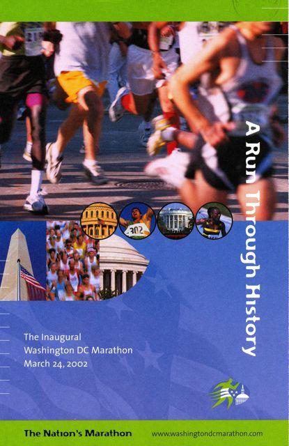 2002 Washington DC Marathon Recap And A Class Action Lawsuit