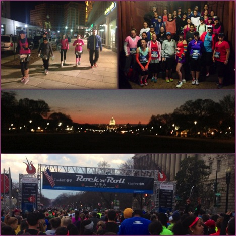 Moms RAN Our Nation's Capital!