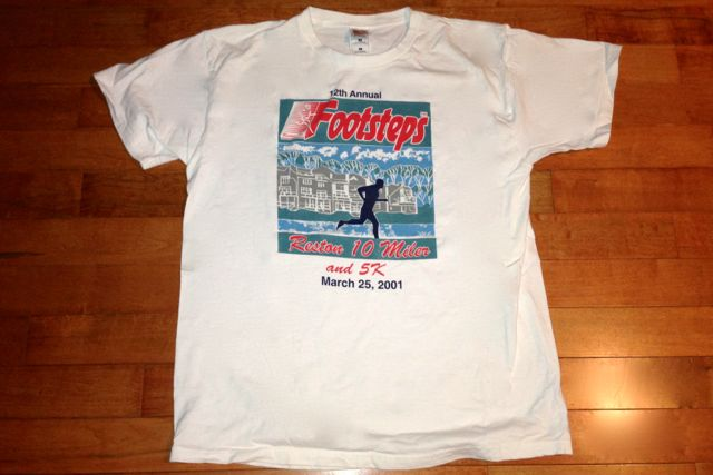 2001 And 1998 Reston Ten Miler Race Recaps