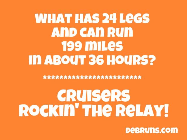 What Has 24 Legs And Can Run 199 Miles…