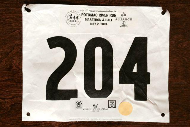 2004 Potomac River Run Marathon Recap