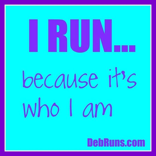 I Run Because…
