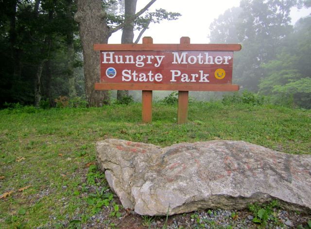 Running The Trails At Hungry Mother State Park