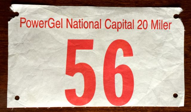 2002, 2001, 2000, 1999, And 1997 National Capital 20 Miler Race Recaps