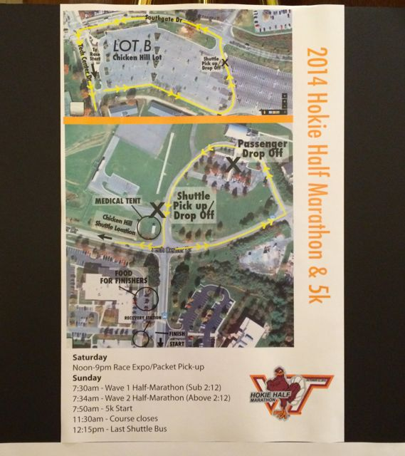 2014 Hokie Half Marathon Expo
