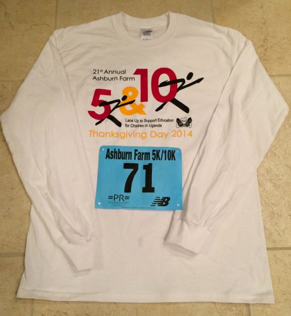 2014 Ashburn Farm Thanksgiving Day 5K Race Recap