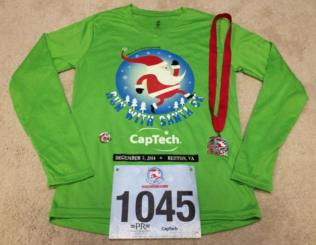 2014 Run With Santa 5K Race Recap