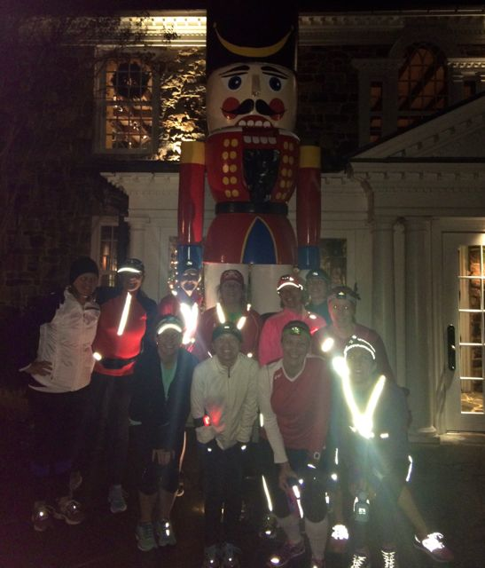 Why Not Run Instead Of Driving During Your Christmas Lights Tour?