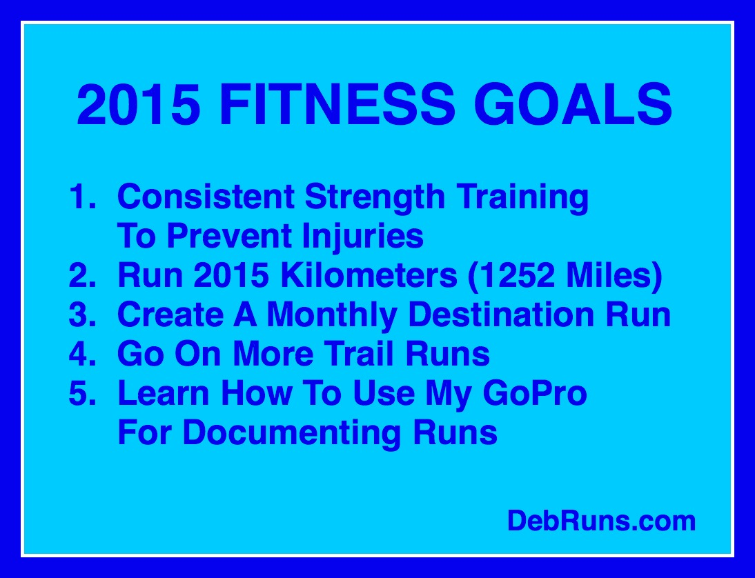 2015 Running And Fitness Goals