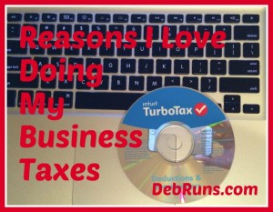 Five Reasons I Love Doing My Business Taxes