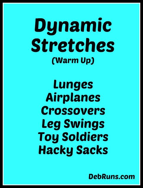 Dynamic Versus Static Stretching