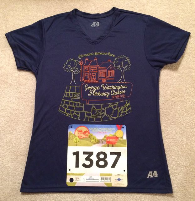 2015 George Washington Parkway Classic Ten Mile Run Recap