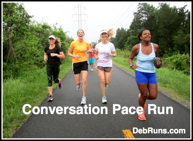 The Importance Of Conversation Pace Runs