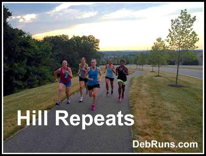 Getting Stronger With Hill Repeats
