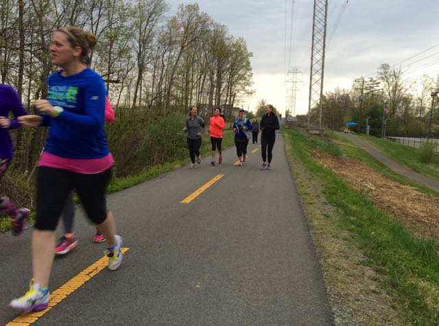 One Can Never Have Too Many Running Friends