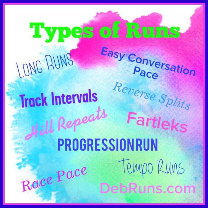 Types Of Training Runs