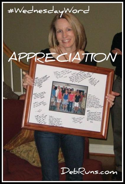 In Appreciation Of You
