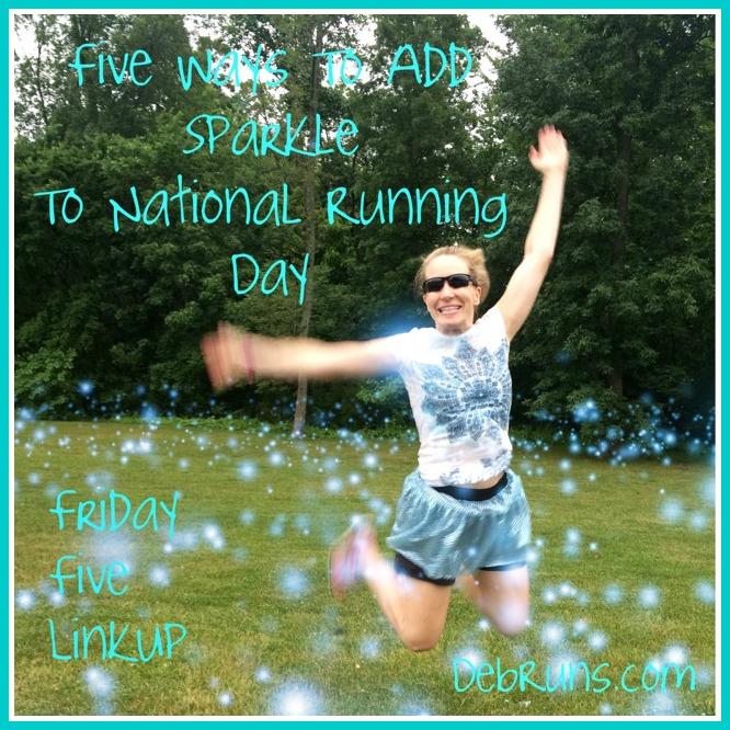 Five Ways To Add Sparkle To National Running Day
