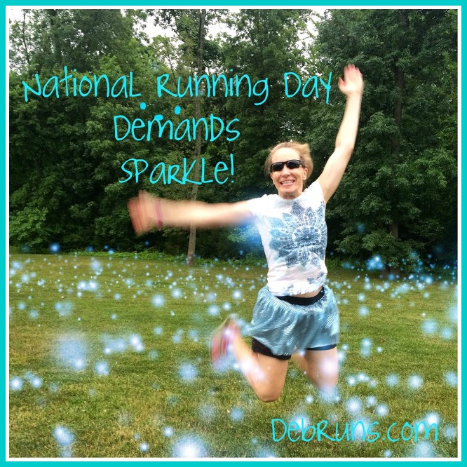 National Running Day Demands Sparkle!