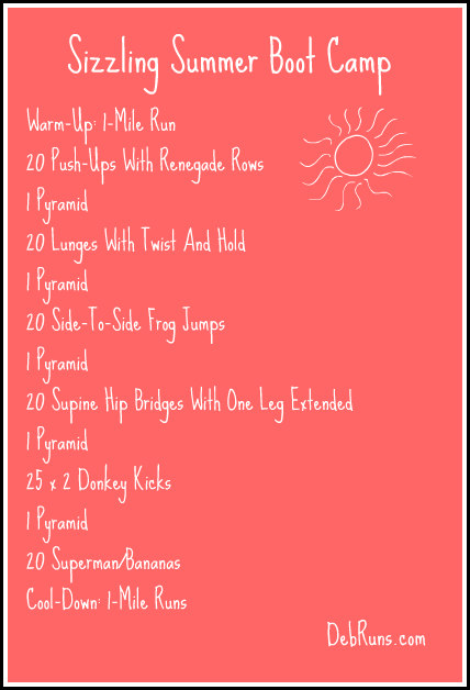 Summer Sizzling Boot Camp