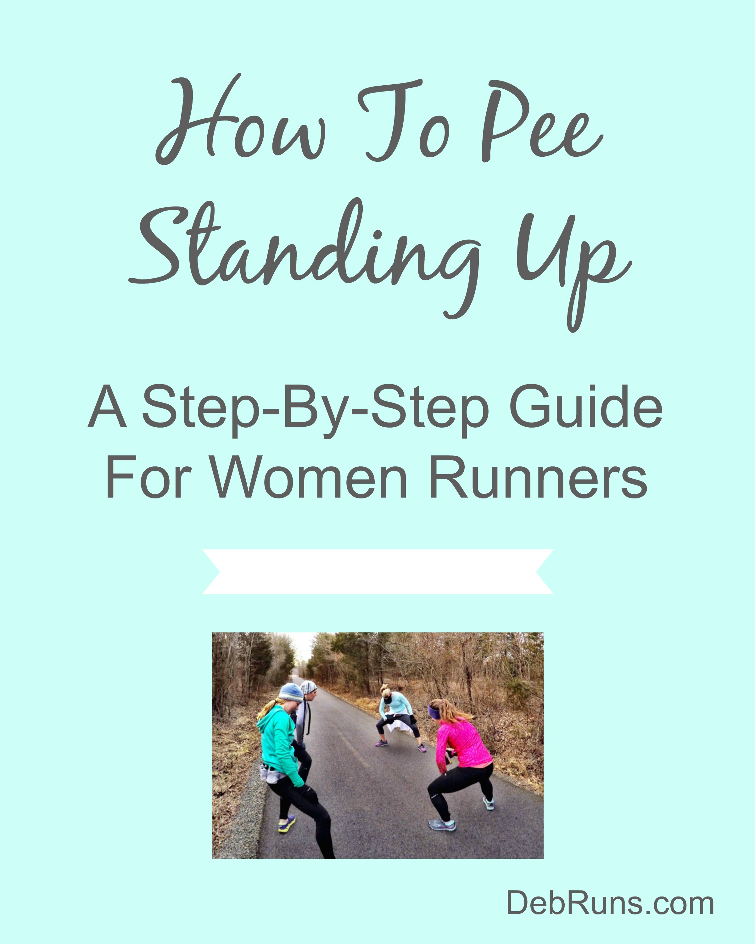 Womens guide to peeing standing up