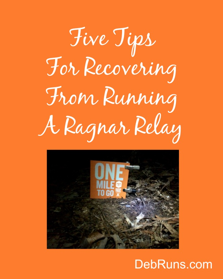 Five Tips For Recovering From Running A Ragnar Relay