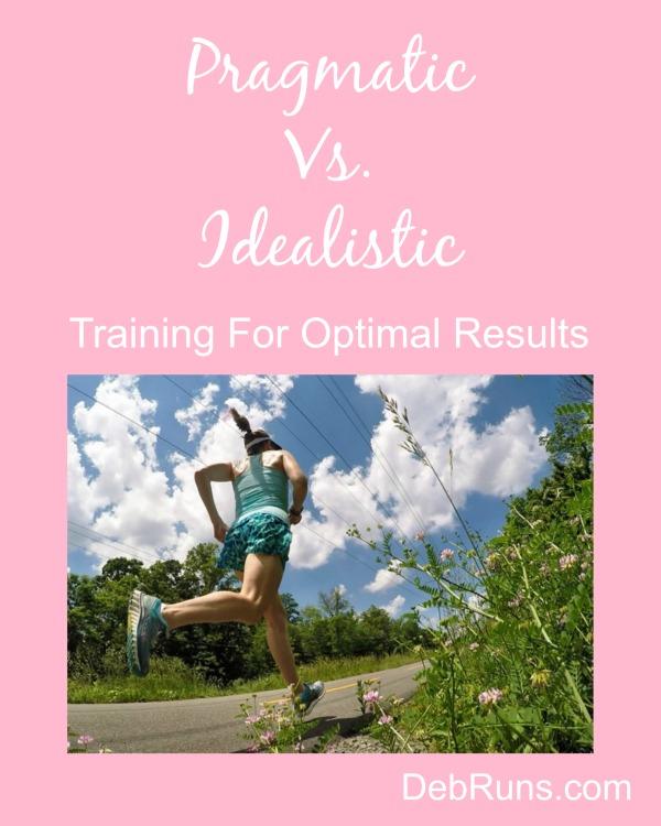 Approaching Training In A Pragmatic Way
