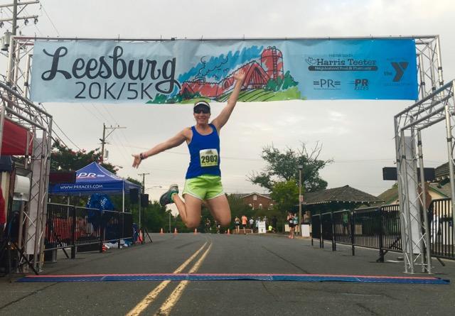 2016 Leesburg 20K Race Recap