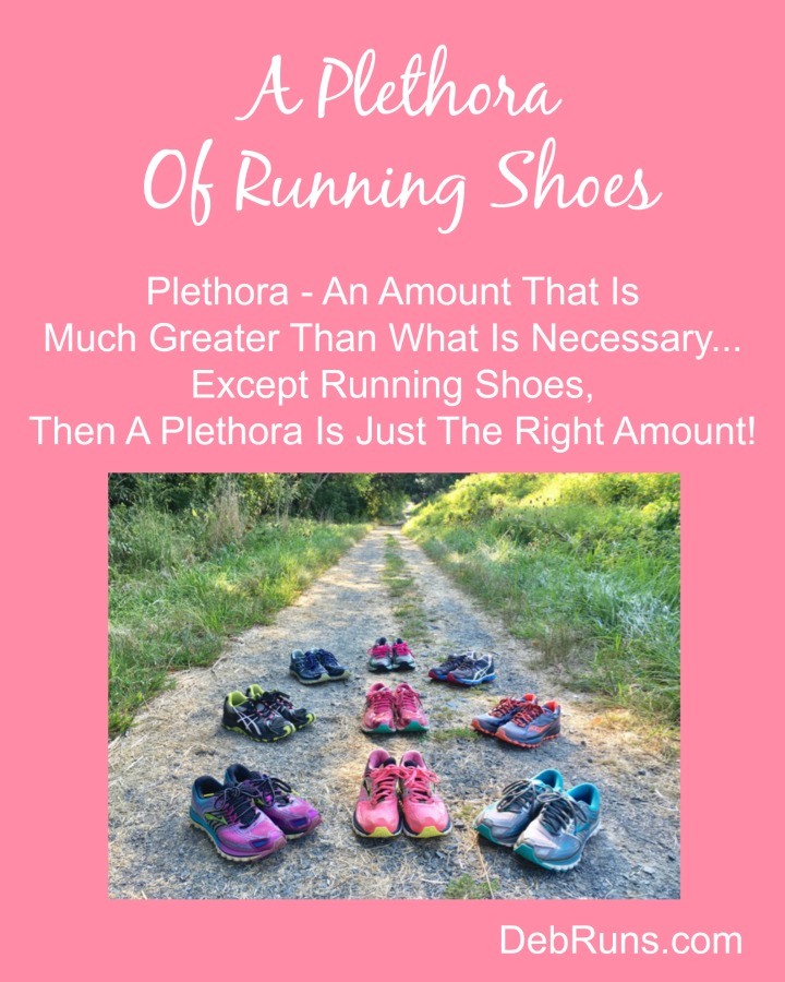 A Plethora Of Running Shoes, Shorts, Tanks…