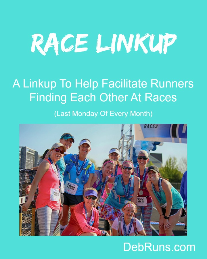 Race Linkup: April 2018 Edition