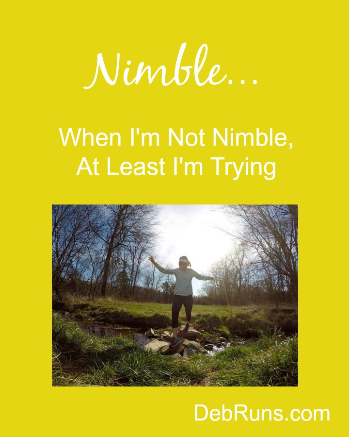 When I'm Not Nimble, At Least I'm Trying