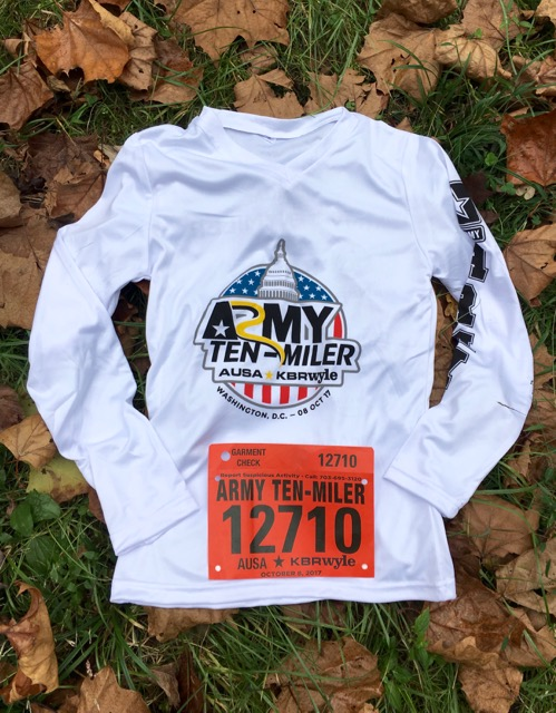 The Race I Didn't Run:  2017 Army Ten-Miler Race Recap
