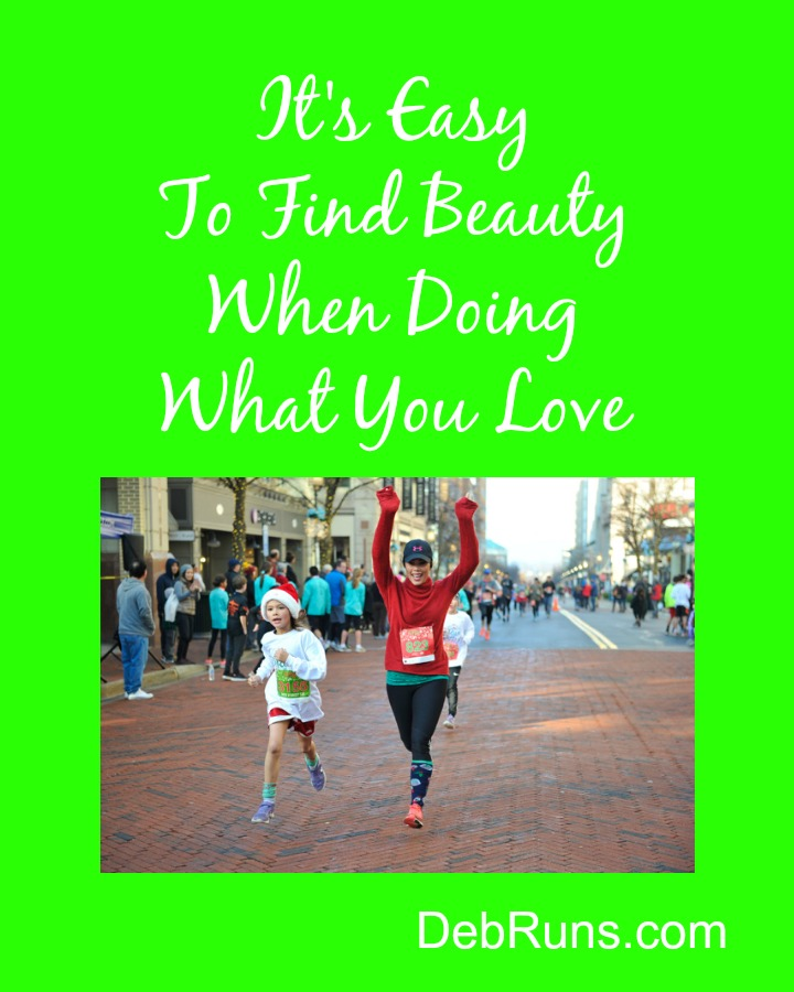 Finding Beauty In Running