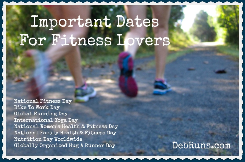 Important Dates For Fitness Lovers