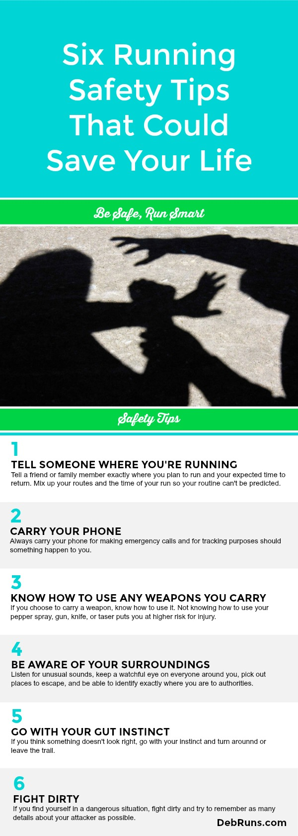 Six Running Safety Tips That Could Save Your Life
