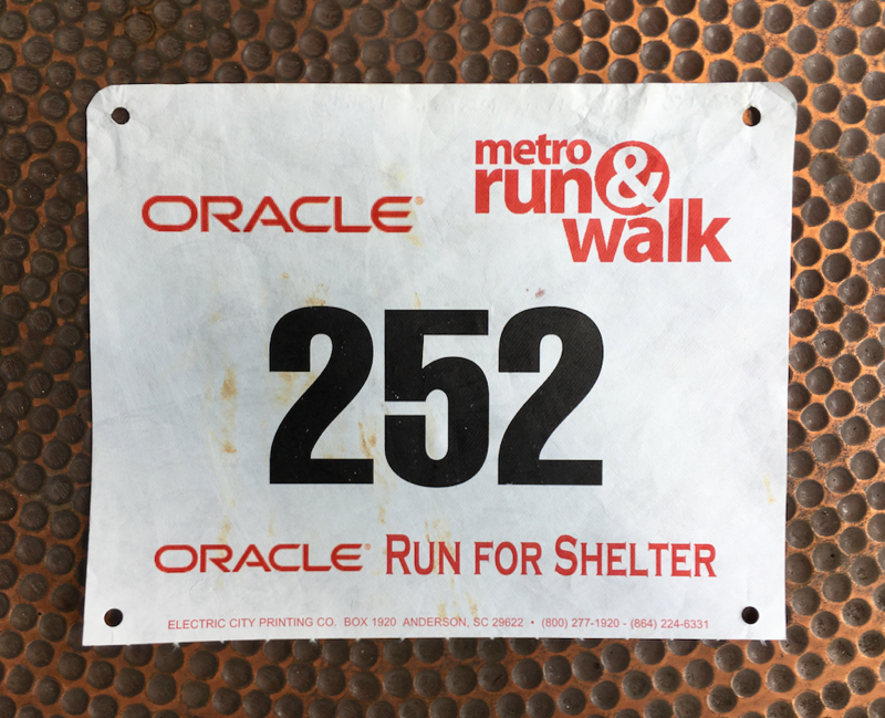 2003 LAWS Run For Shelter Half Marathon Race Recap